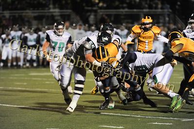 2014 Clarkston Varsity Football vs  Lapeer 145