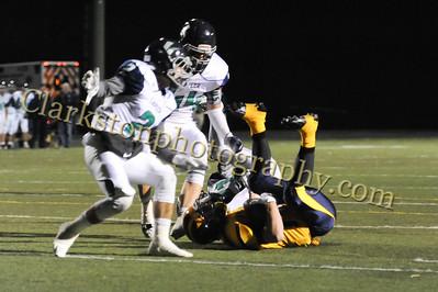 2014 Clarkston Varsity Football vs  Lapeer 151