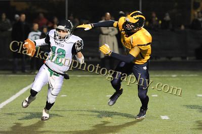 2014 Clarkston Varsity Football vs  Lapeer 154