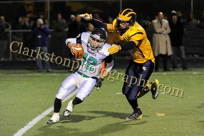 2014 Clarkston Varsity Football vs  Lapeer 155