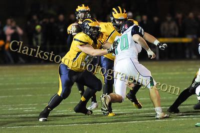 2014 Clarkston Varsity Football vs  Lapeer 127