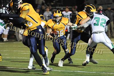 2014 Clarkston Varsity Football vs  Lapeer 140