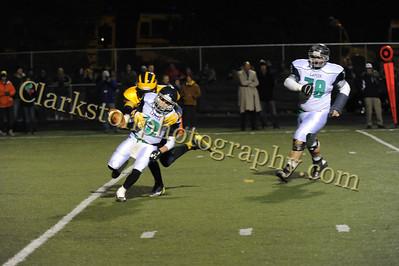 2014 Clarkston Varsity Football vs  Lapeer 156