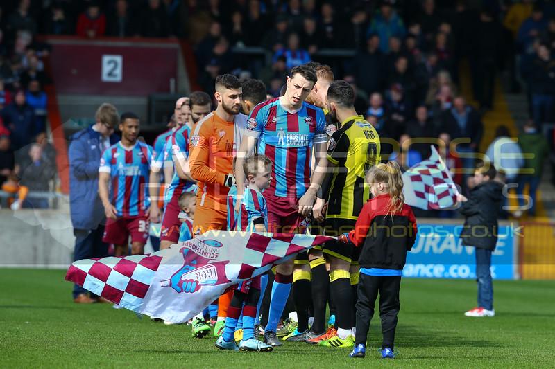Scunthorpe United v Burton Albion