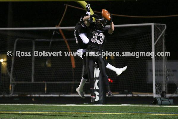 BHS Varsity Football vs Bourne