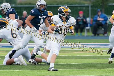 2015 Clarkston Varsity Football vs  Dakota 042