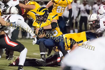 2015 Clarkston Varsity Football vs  Oak Park -064