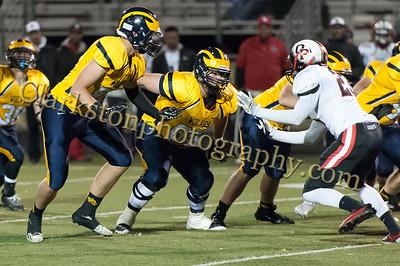2015 Clarkston Varsity Football vs  Oak Park -102