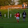 Johnstone Burgh 1 Rutherglen Glencairn 3<br> Euroscot Eng Central League Cup Round 2<br> Keanie Park<br> 09/05/2016<br> <i>John McStay's shot flies into the net to give Burgh their goal on the night</i>