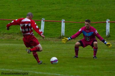 Johnstone Burgh 1 St Mirren XI 4, Freindly Match, 27th July 2015