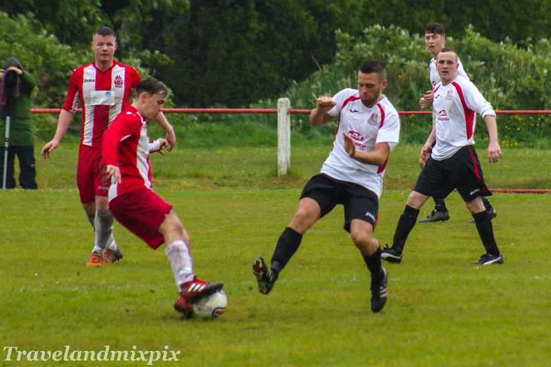 Johnstone Burgh 1 Neilston 1  McBookie.com West of Scotland League Central District First Division Keanie Park 13/05/2017