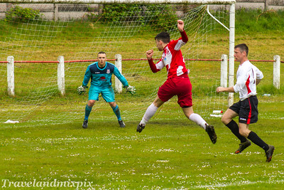 Johnstone Burgh 1 Neilston 1  McBookie.com West of Scotland League Central District First Division Keanie Park 13/05/2017