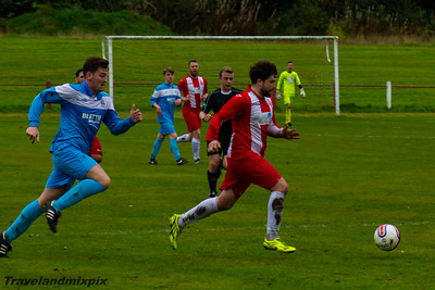 Johnstone Burgh 1 Royal Albert 2 West of Scotland Cup Keanie Park 15/10/2016