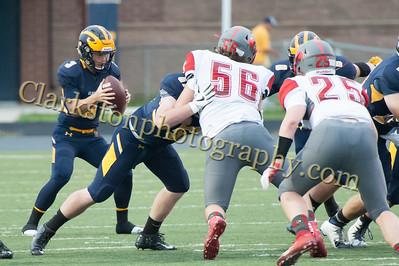 2016 Clarkston Football vs  Troy Athens 048