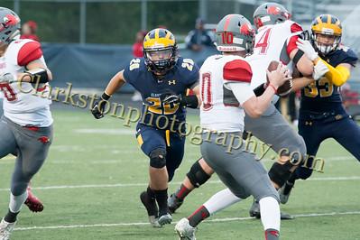 2016 Clarkston Football vs  Troy Athens 029