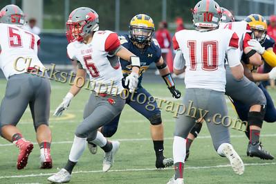 2016 Clarkston Football vs  Troy Athens 028