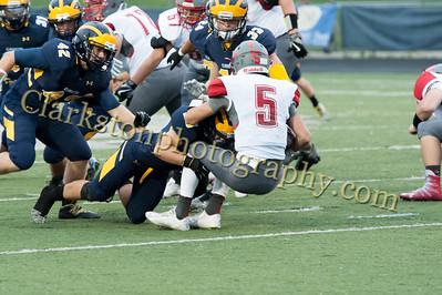 2016 Clarkston Football vs  Troy Athens 020