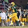 Damascus sophomore T.D.Ayo-Durojaiya streaks the sidelines on his way to a touchdown.