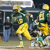 Running back for Damascus, Markus Vinson, has a wide open field on his way to another touchdown.
