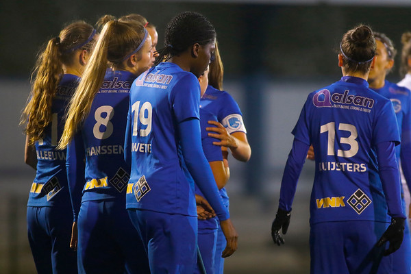 Illustratie Sponsor Alsan and Vink of KRC Genk Ladies