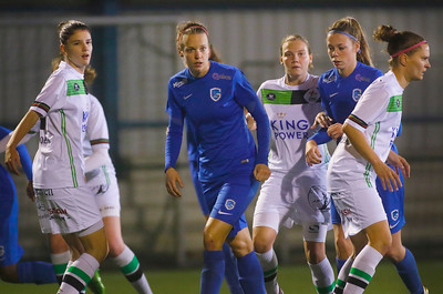 Lore Vanschoenwinkel of Belgium - Nadine Hanssen of KRC Genk Ladies