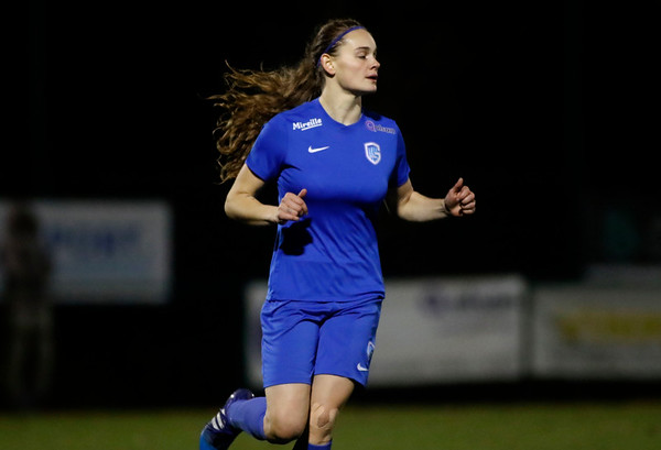 Sylke Calleeuw of KRC Genk Ladies