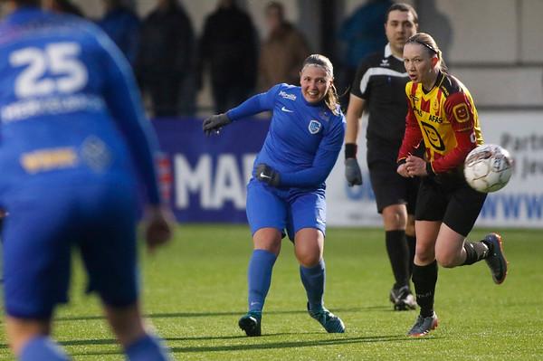 20180120 - KV Mechelen - KRC Genk Ladies Beloften - Esther Oversteyns of KRC Genk Ladies