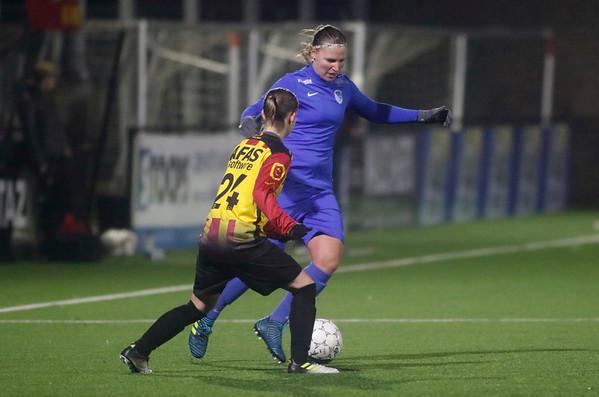 20180120 - KV Mechelen - KRC Genk Ladies Beloften - Eshter Oversteyns of KRC Genk Ladies