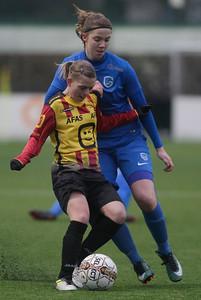 20180120 - KV Mechelen - KRC Genk Ladies Beloften - Hanne Merkelbach of KRC Genk Ladies