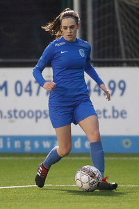20180120 - KV Mechelen - KRC Genk Ladies Beloften - Fien Steyvers of KRC Genk Ladies