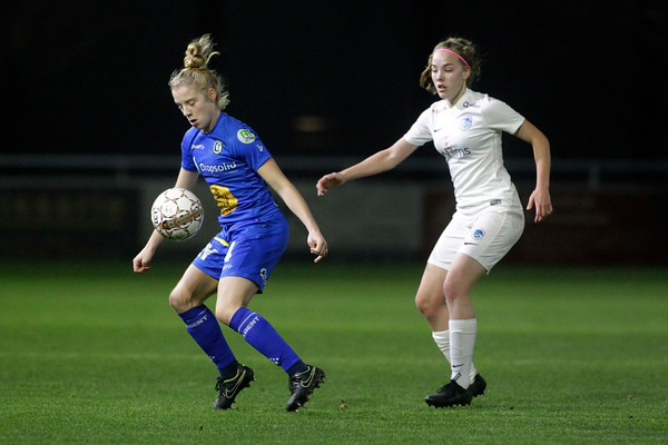 2018-12-21 - Gent - KAA Gent Ladies - KRC Genk Ladies - Emmy Donne of KRC Genk Ladies - Elena Dhont of KAA Gent Ladies