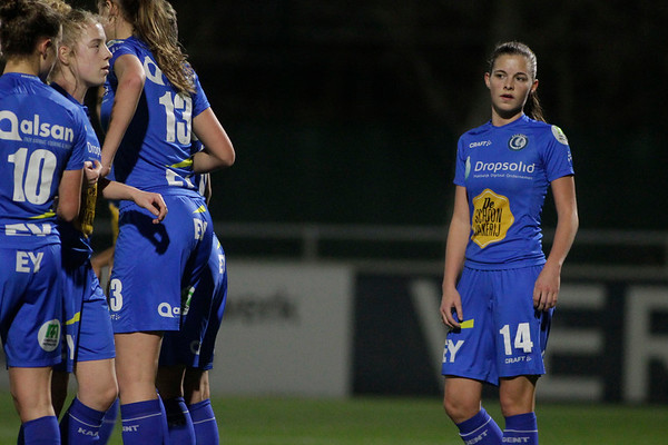 2018-12-21 - Gent - KAA Gent Ladies - KRC Genk Ladies - Shari Vanbelle of KAA Gent Ladies