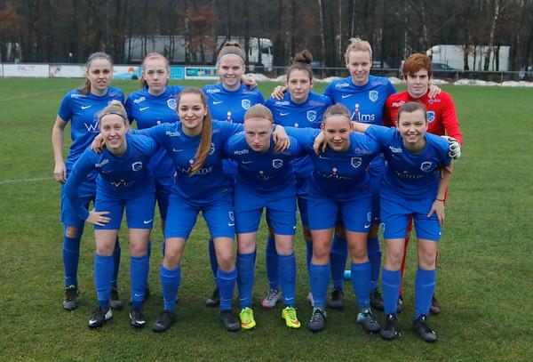 20190126 - Genk - KRC Genk Ladies - Eendracht Aalst - Team of KRC Genk Ladies   Davy Rietbergen / Cor Vos