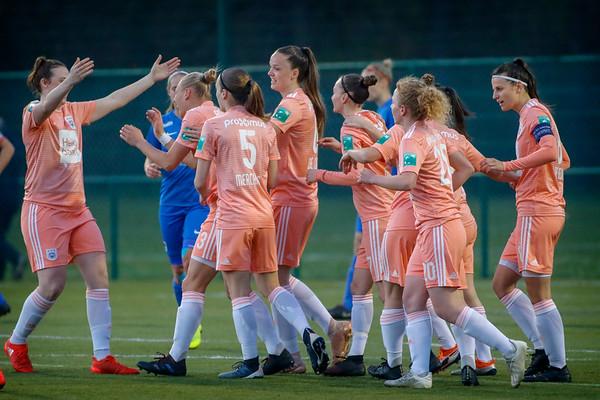 20190417 - Genk - KRC Genk Ladies - RSC Anderlecht - Ella van Kerkhoven of RSC Anderlecht - Abby Grant of RSC Anderlecht   (C) Davy Rietbergen/CorVos