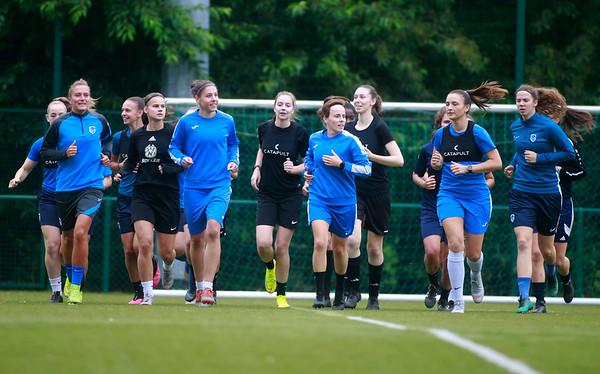 KRC Genk Ladies First Training 2020