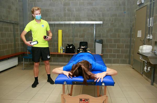 KRC Genk Ladies Physical Test 2020