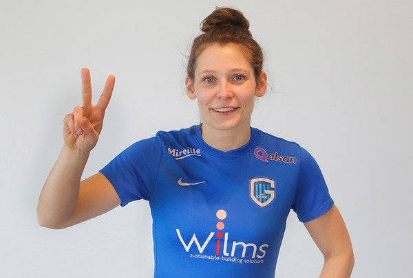 Nathalie Weytjens of KRC Genk Ladies  (C) Davy Rietbergen