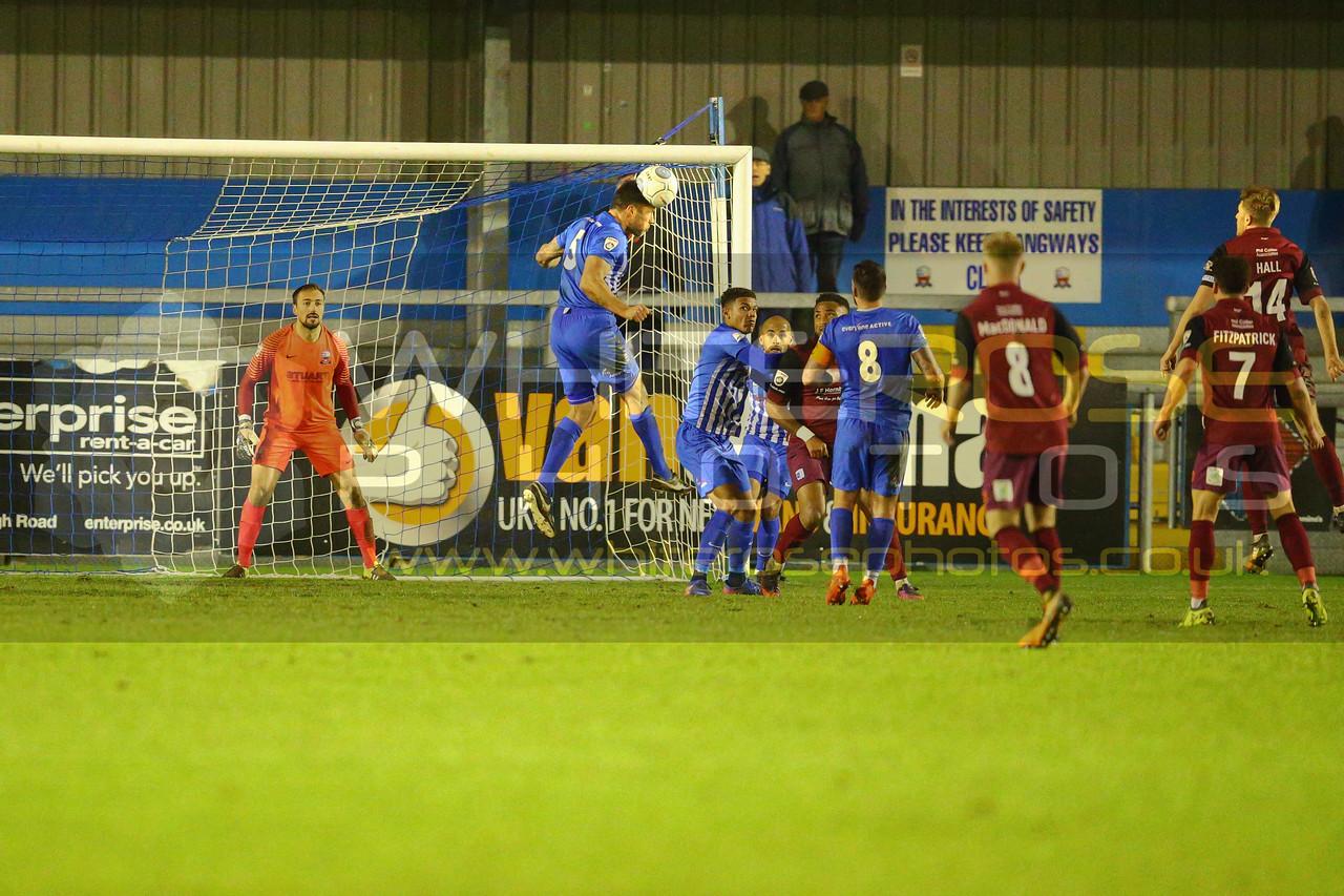 Nuneaton Town v Barrow AFC