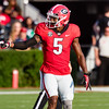 Terry Godwin prepares to run a past pattern vs. Appalachian State