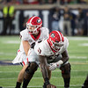Jake Fromm (11) and Lamont Gaillard (53)  - Georgia vs. Notre Dame 2017