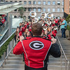 Redcoats perform at the Rose Bowl Bash - downtown LA