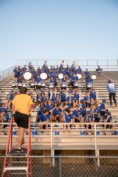 Student Section + Band