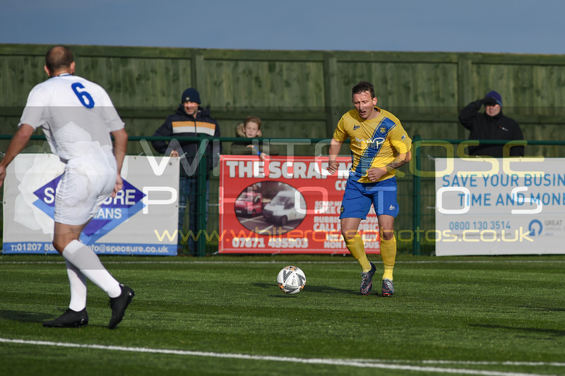Consett AFC v Stockton Town - Northern League Division 1