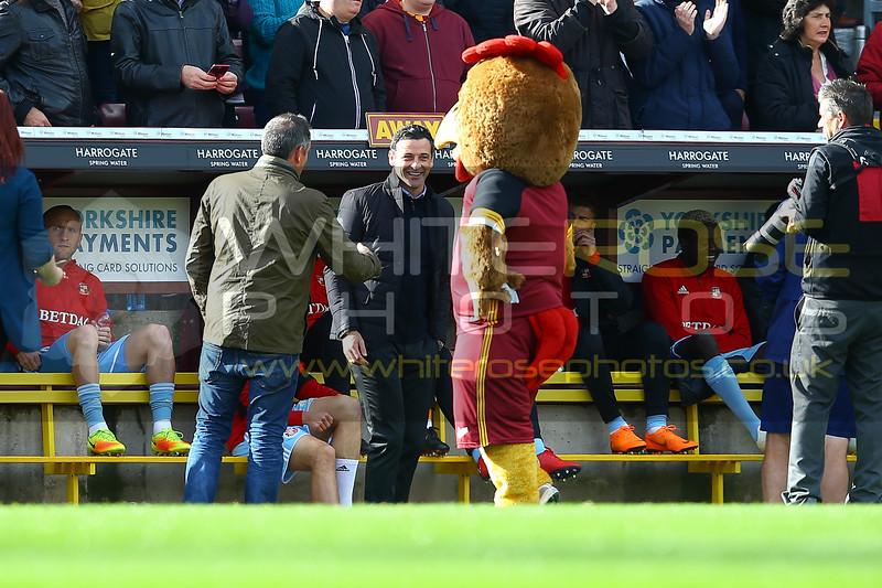 Bradford City v Sunderland, EFL League One, 2018/19, Northern Commercials Stadium, Bradford, England - 6th October 2018