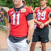 Jake Fromm and CHarlie Woerner (89)