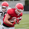 Jackson Harris - 2018 Spring Practice Day 4 - March 27, 2018