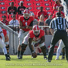 Justin Fields (1)  and Trey Hill (55)