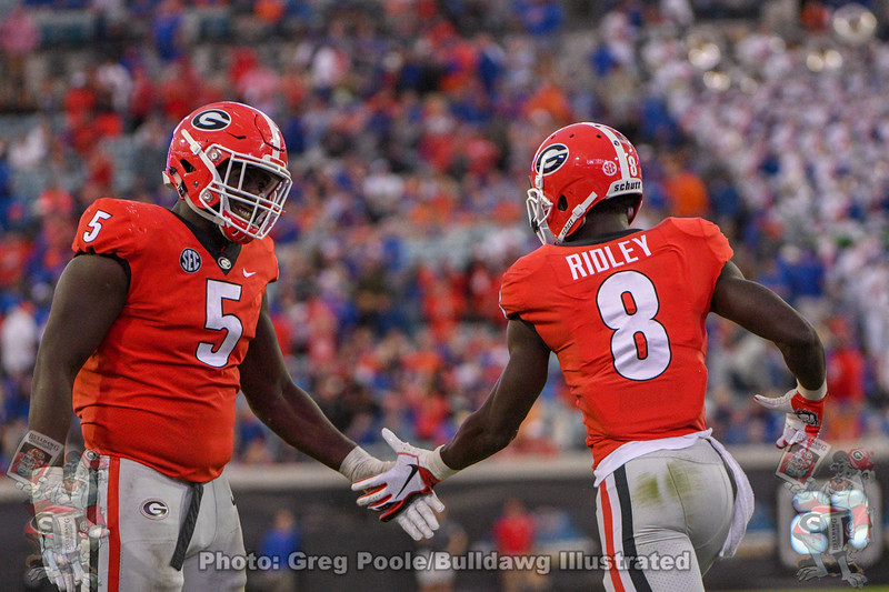 Julian Rochester (5) and Riley Ridley (8)