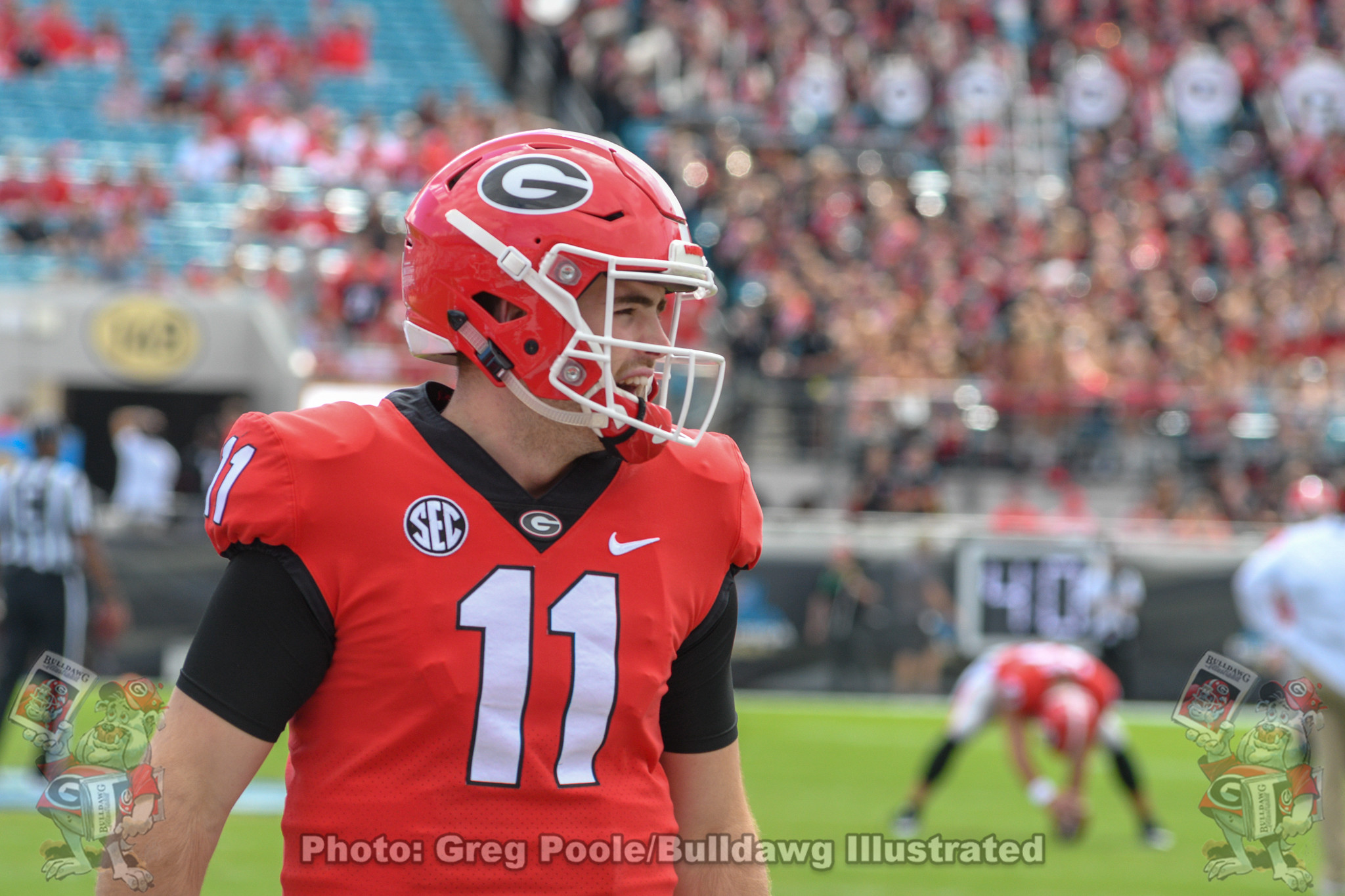 Jake Fromm (11) vs Florida 2018
