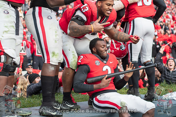 Georgia vs. Georgia Tech 2018 - All Photos